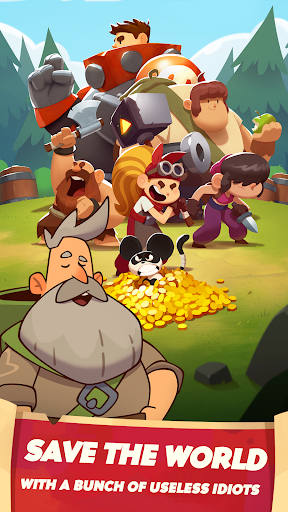 Almost a Hero - Idle RPG Clicker 4.4.1 screenshots 2