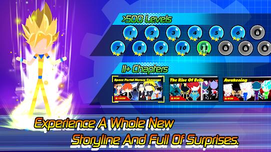 Super Stick Fight All-Star Hero: Chaos War Battle MOD (Unlimited Money) 4