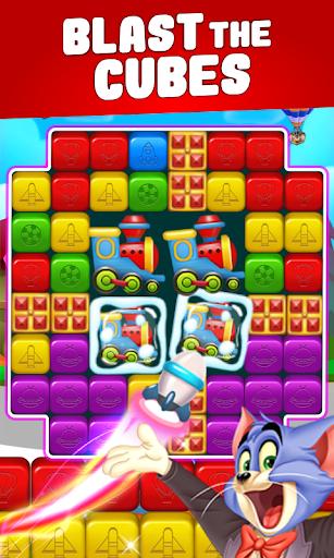 toon cat match - puzzle blast screenshot 3