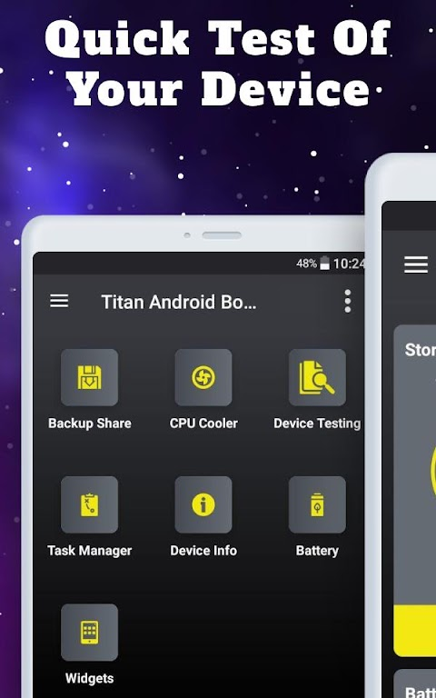 Titan Booster - Instantly Speed Up Your Phone  poster 13