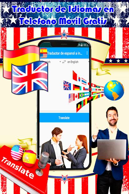 Traductor (INGLES A ESPAÑOL) Gratis Guide Idiomas screenshot 3
