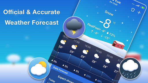 Weather Forecast - Accurate Local Weather & Widget 1.0.9 screenshots 2