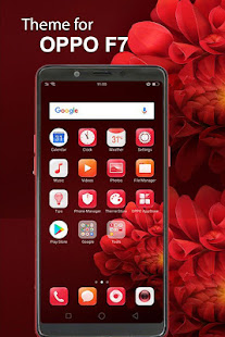 Themes for OPPO F7 Launcher & HD Wallpaper
