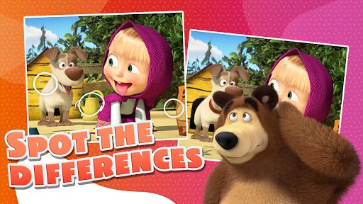 Masha and the Bear - Game zone screenshots 5