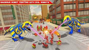 Monster Truck Transform Dino War Dragon Robot Game