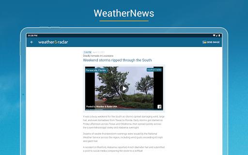 Weather & Radar USA - Storm alerts  Screenshots 12