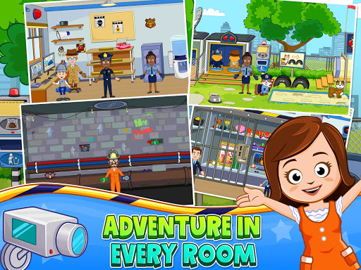 My Town : Police Station. Policeman Game for Kids screenshots 11