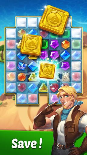 Gems Voyage - Match 3 & Jewel Blast 1.0.07 screenshots 3
