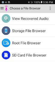 Audio Recovery 4.8 APK screenshots 6