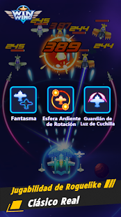 Schermata di WinWing: sparatutto spaziale