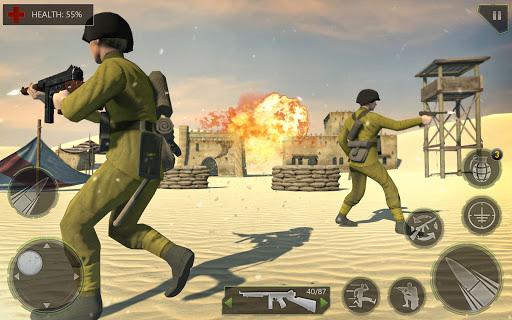 Télécharger Gratuit Call of Army WW2 Shooter - Jeux de tir hors ligne APK MOD (Astuce) screenshots 1