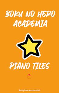 Boku no Hero Academia Piano Tiles 1 Screenshots 5