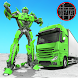 Robot Truck Transformer US Police Robot War Games