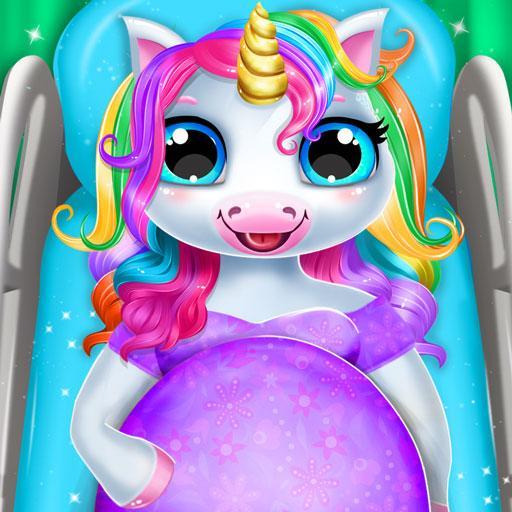 Pregnant Unicorn Mom And Baby Daycare-Unicorn Game