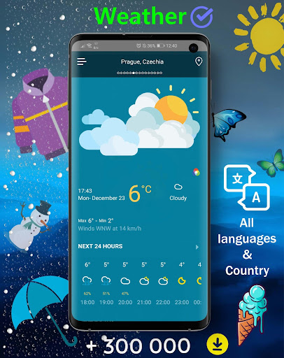 Live Weather - Weather Forecast 2020 1.0.3 Screenshots 1