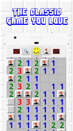 Minesweeper for Android - Free Mines Landmine Game  screenshots 1