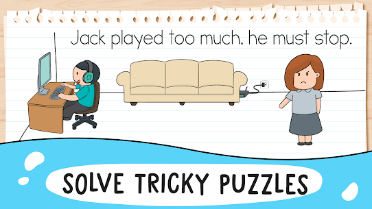 Brain Test 2 Tricky Stories Apk Download, NEW 2021 6