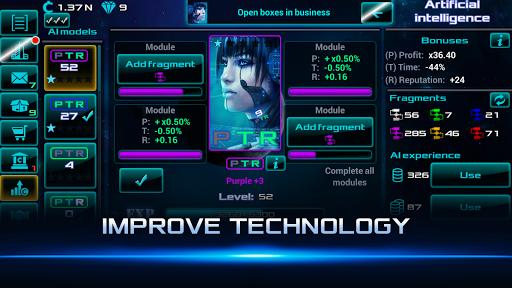 Idle Space Business Tycoon Apkfinish screenshots 4