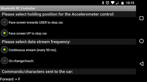 Arduino Bluetooth RC Car  screenshots 5