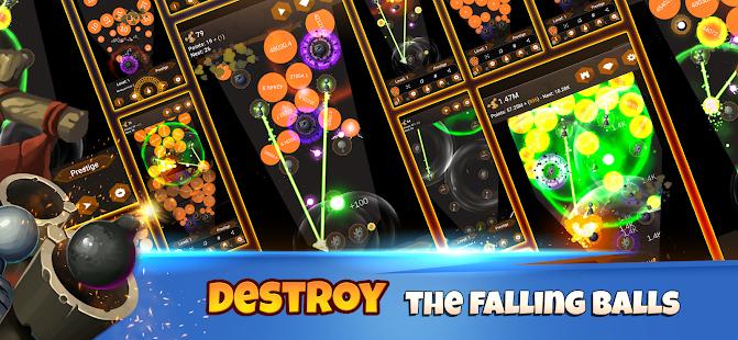 Tower Ball - Defesa Incremental da Torre 111 APK + Mod (Unlimited money) para Android