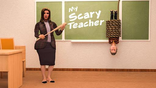 Scare Scary Evil Teacher 3D: Spooky & Creepy Games 1.0.8 Screenshots 4