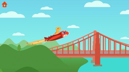 Dinosaur Plane - Plane piloting game for kids 1.1.0 screenshots 6