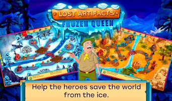 Lost Artifacts 5: Ice Queen (free-to-play)