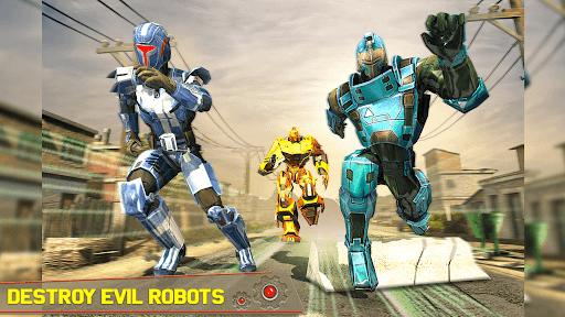 Tank Robot Car Games - Multi Robot Transformation screenshots 20