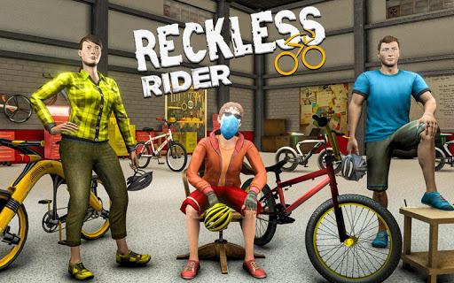 Reckless Rider- Extreme Stunts Race Free Game 2021 Apkfinish screenshots 10