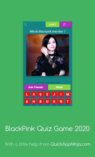 BlackPink Quiz Game 2020 8.3.1z Screenshots 6