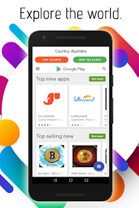 Play Store Country Change App For Android 1