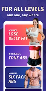 Lose Belly Fat at Home - Lose Weight Flat Stomach 1.4.2 (Pro)