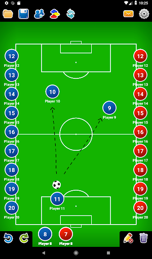 Coach Tactic Board: Soccer 1.3 Screenshots 12