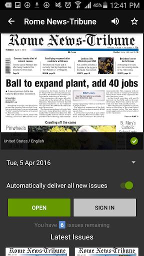 Rome News-Tribune 4.7.16.0331 Screenshots 14