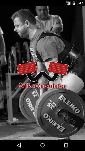 wilks calculator powerlifting screenshot 1