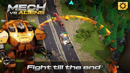 Mech vs Aliens: Top down shooter   RPG  screenshots 3
