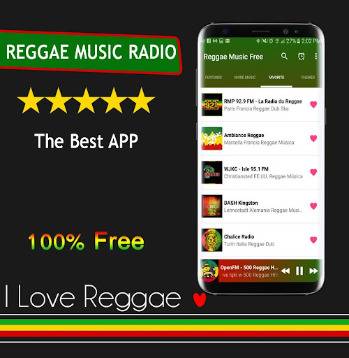 Reggae Music Free screenshot 9