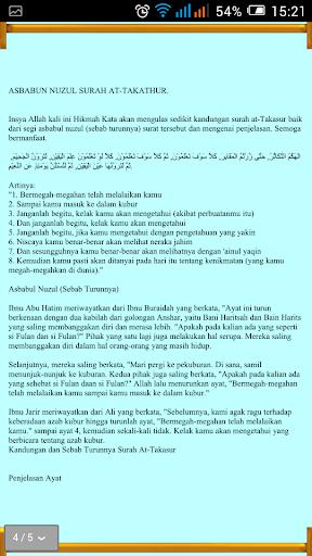 Surah Hafazan & Asbabun Nuzul For PC Windows (7, 8, 10, 10X) & Mac Computer Image Number- 16