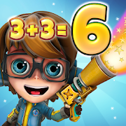 Powernauts - Fun math problems and games for kids