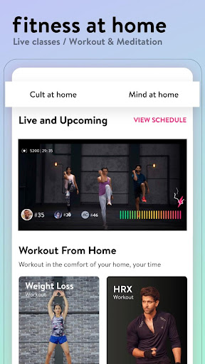 cure.fit fitness, meditation, healthy food, doctor screenshot 2