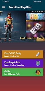 Free UC and Royal Pass 1