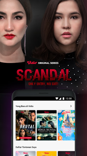 Vidio - Watch Video, TV & Live Streaming 5.49.10-05530ea Screenshots 1