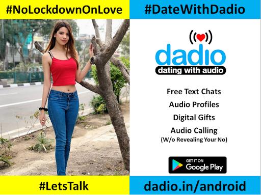 Dadio - Free Audio Dating App, No Fakes Dating App  screenshots 4