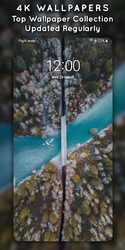 4K Wallpapers - Auto Wallpaper Changer 1.8.4 Screenshots 1