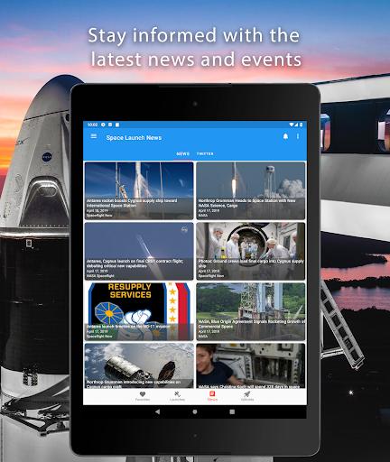 Space Launch Now - Watch SpaceX, NASA, etc...live! apktram screenshots 9