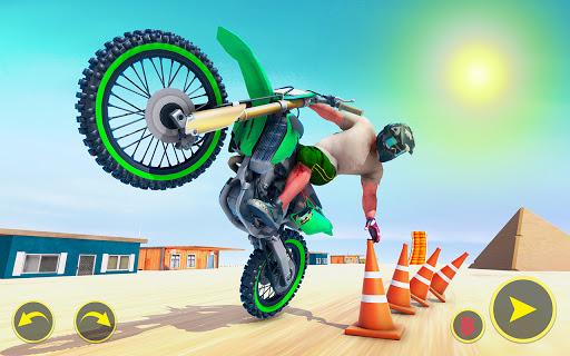 ramp bike impossible bike stunt game 2021 screenshot 1