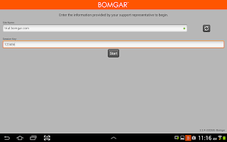 Bomgar for Samsung