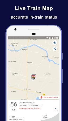 Indian Railway Train Status : Where is my Train 10.94 Screenshots 2