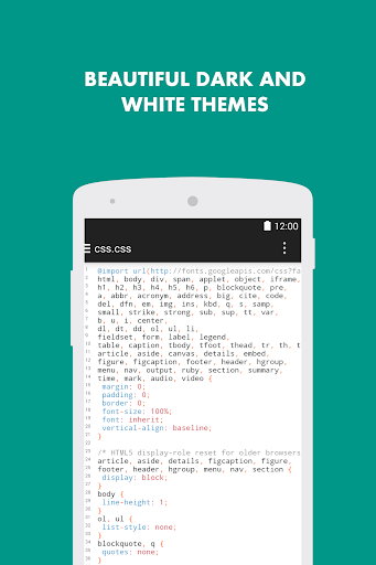 Turbo Editor // Text Editor  Screenshots 4