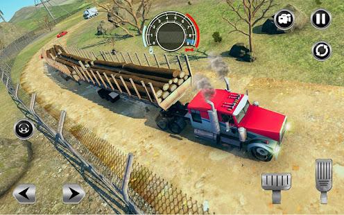 Road Train Truck Driving Sim: Long Trailer Cargo